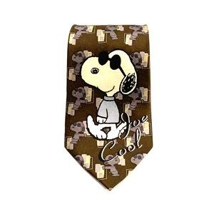 Snoopy Neck Tie - Brand New! Peanuts 50th